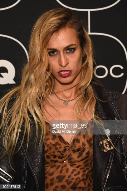 Alice Dellal attends the Brits Awards 2018 After Party hosted by Warner Music Group Ciroc and British GQ at Freemasons Hall on February 21 2018 in...