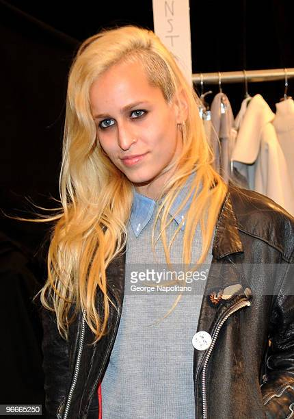 Alice Dellal attends the Lacoste Fall 2010 fashion show during MercedesBenz Fashion Week at Bryant Park on February 13 2010 in New York City