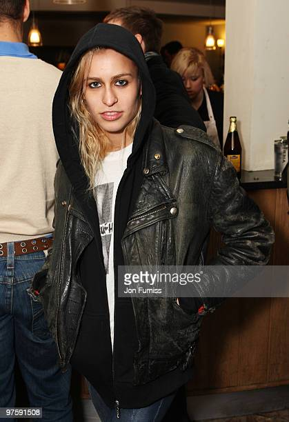 ACCESS** Alice Dellal attends the launch of SAW Alive the world's most extreme live horror maze at Thorpe Park on March 9 2010 in Chertsey England