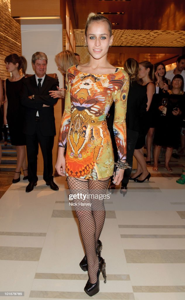 Alice Dellal attends the launch of the Louis Vuitton Bond Street Maison on May 25, 2010 in London, England.
