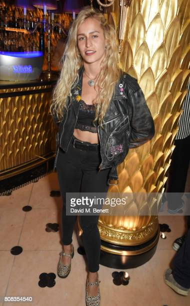 Alice Dellal attends the Rockins party to celebrate the Rockins Selfridges PopUp Shop at Park Chinois supported by Ciroc on July 4 2017 in London...