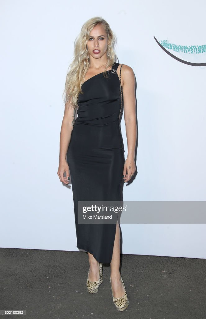 Alice Dellal attends The Serpentine Galleries Summer Party at The Serpentine Gallery on June 28, 2017 in London, England.