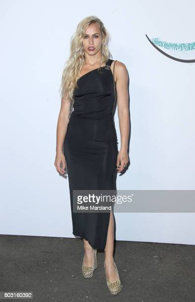 Alice Dellal attends The Serpentine Galleries Summer Party at The Serpentine Gallery on June 28 2017 in London England
