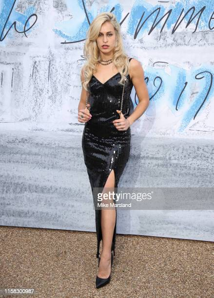 Alice Dellal attends The Summer Party 2019 Presented By Serpentine Galleries And Chanel at The Serpentine Gallery on June 25 2019 in London England