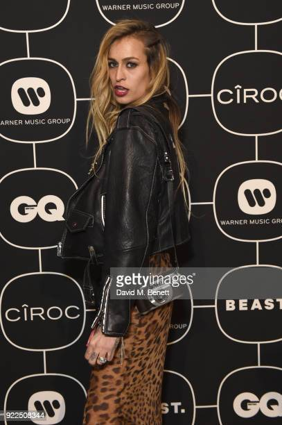 Alice Dellal attends the Warner Music CIROC BRIT Awards 2018 afterparty at Freemasons Hall on February 21 2018 in London England