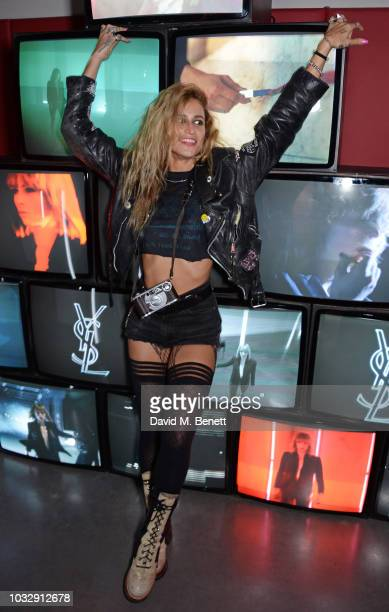 Alice Dellal attends the YSL Beauty Club on September 13 2018 in London England