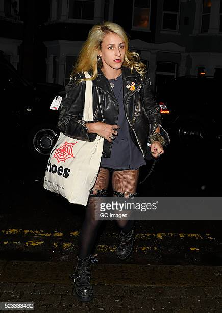 Alice Dellal sighting on April 22 2016 in London England