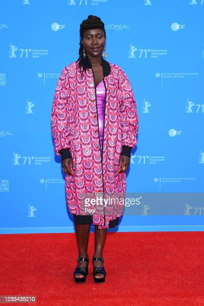 """Alice Diop, winner of the Berlinale Documentary and """"Encounters"""" Award for their movie """"Nous"""" attends the Award Ceremony and """"Babardeală cu bucluc..."""