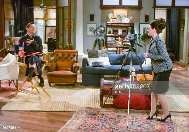 WILL GRACE Alice Doesn't Lisp Here Anymore Episode 22 Pictured Sean Hayes as Jack McFarland Megan Mullally as Karen Walker