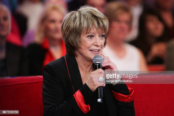Alice Dona attends Vivement Dimanche Tv show in Paris France on February 23 2011