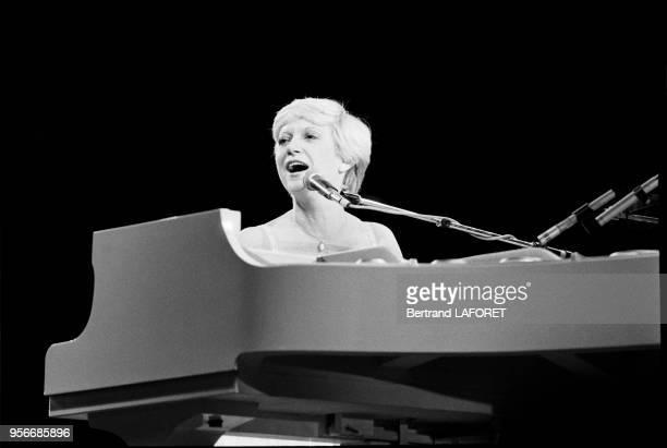 Alice Dona en concert à l'Olympia en septembre 1979 à Paris France
