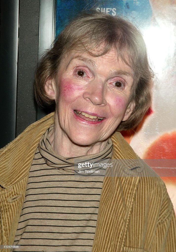 Alice Drummond during 'Pieces of April' - New York City Premiere at Landmark's Sunshine Theater in New York City, New York, United States.