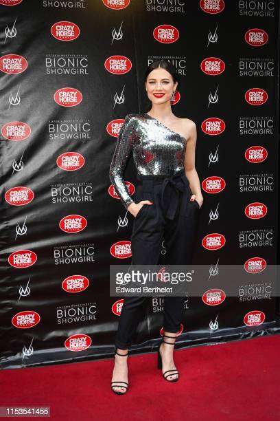 Alice Dufour actress attends the Bionic ShowGirl Premiere at Le Crazy Horse on June 03 2019 in Paris France