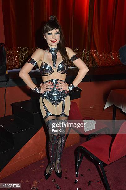 Alice Dufour attends 'Mugler Follies' 100th Edition at Le Comedia on May 26 2014 in Paris France