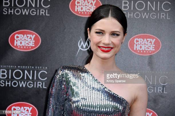 Alice Dufour attends the Bionic ShowGirl Premiere at Le Crazy Horse on June 03 2019 in Paris France