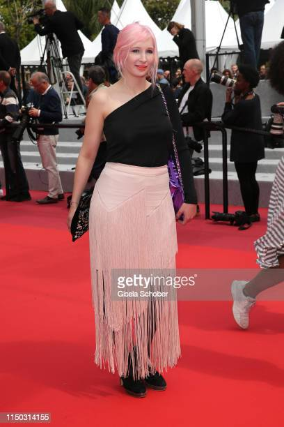Alice Dutoit aka Alice on the Roof attends the screening of Portrait Of A Lady On Fire during the 72nd annual Cannes Film Festival on May 19 2019 in...