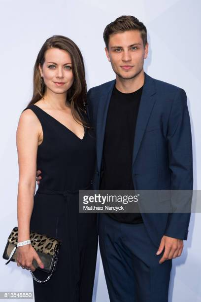 Alice Dwyer and Jannik Schuemann attend the Summer Party of the German Producers Alliance on July 12 2017 in Berlin Germany