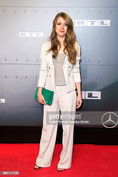 Alice Dwyer attends the Berlin premiere of the film 'Starfighter Sie wollten den Himmel erobern' at Kino International on March 18 2015 in Berlin...