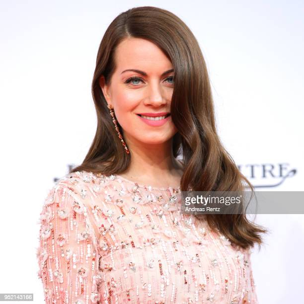 Alice Dwyer attends the Lola German Film Award red carpet at Messe Berlin on April 27 2018 in Berlin Germany