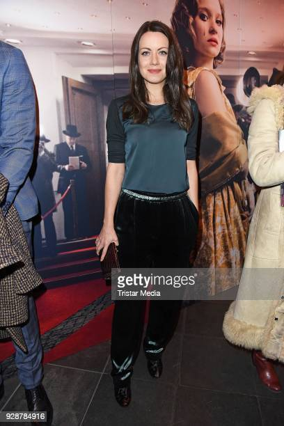 Alice Dwyer during the premiere of 'Ku'damm 59' at Cinema Paris on March 7 2018 in Berlin Germany