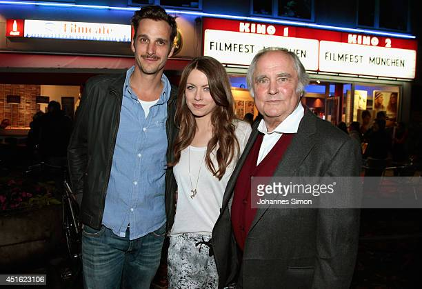 Alice Dwyer Max von Thun and Michael Verhoeven attend the 'Let's Go' premiere as part of Filmfest Muenchen 2014 at Rio Filmpalast on July 2 2014 in...
