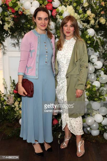 Alice Edwards and Mariella Tandy attend the Outnet's 10th Anniversary Dinner on April 24 2019 in London England