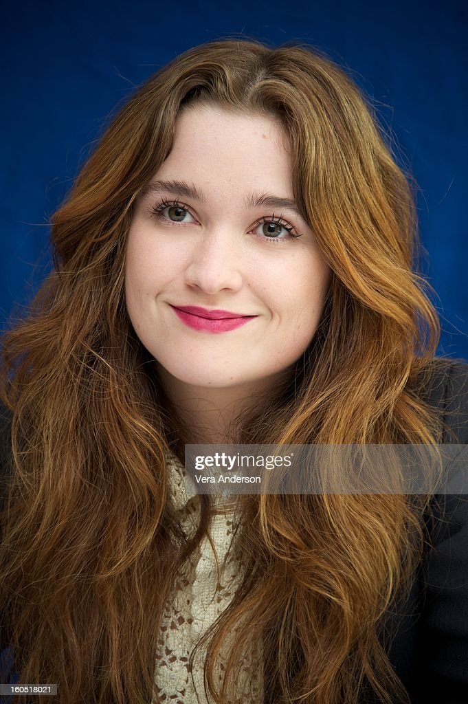 Alice Englert attends the 'Beautiful Creatures' Press Conference at the SLS Hotel on February 1, 2013 in Beverly Hills, California.