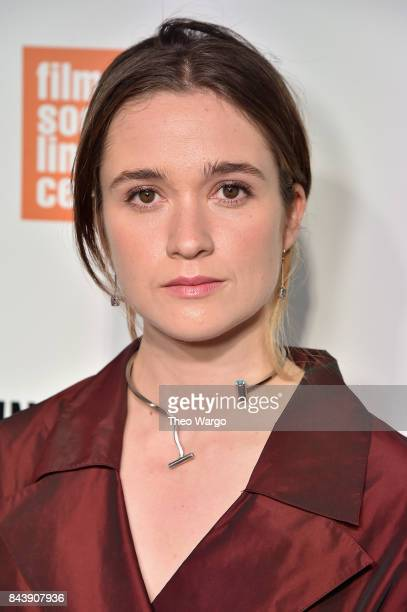 Alice Englert attends 'Top Of The Lake China Girl' Premiere at Walter Reade Theater on September 7 2017 in New York City