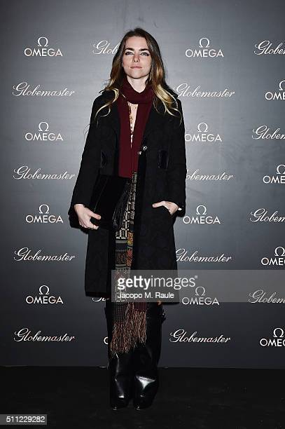 Alice Etro attends OMEGA Globemaster Event at Carlo e Camilla in Segheria on February 18 2016 in Milan Italy