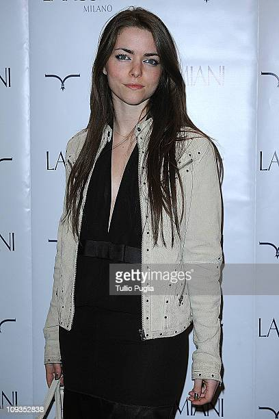 Alice Etro attends the Larusmiani Soteby's charity auctions on February 22 2011 in Milan Italy