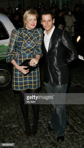 Alice Evans and Ioan Gruffudd arrive at the VIP preview screening of A Different Story a documentary based on singer George Michael's life at the...