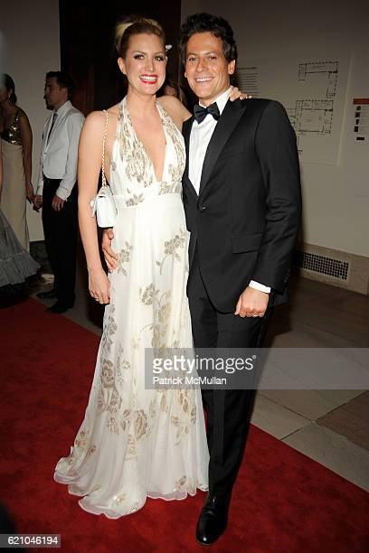 Alice Evans and Ioan Gruffudd attend THE COSTUME INSTITUTE GALA 'SUPERHEROES' with honorary chair GIORGIO ARMANI at The Metropolitan Museum of Art on...