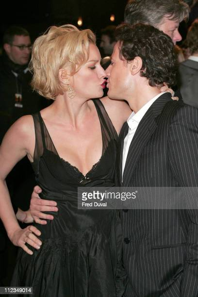 Alice Evans and Ioan Gruffudd during 'Amazing Grace' London Premiere Arrivals at Curzon Mayfair in London Great Britain