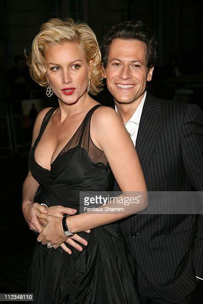 Alice Evans and Ioan Gruffudd during 'Amazing Grace' London Premiere Red Carpet at Curzon Mayfair in London United Kingdom