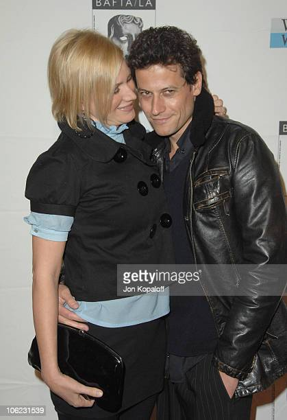 Alice Evans and Ioan Gruffudd during BAFTA/LA Awards Season Tea Party Arrivals at Four Seasons Hotel in Los Angeles CA United States