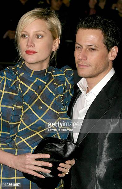 Alice Evans and Ioan Gruffudd during George Michael's A Different Story Gala London Screening Outside Arrivals at Curzon Mayfair in London Great...