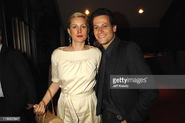 Alice Evans and Ioan Gruffudd during 'Sicko' Los Angeles Premiere After Party at Academy of Motion Picture Arts Sciences in Beverly Hills California...
