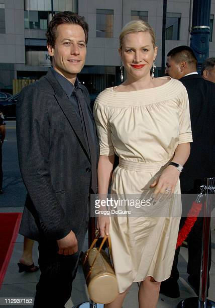 Alice Evans and Ioan Gruffudd during 'Sicko' Los Angeles Premiere Arrivals at Academy Theatre in Beverly Hills California United States