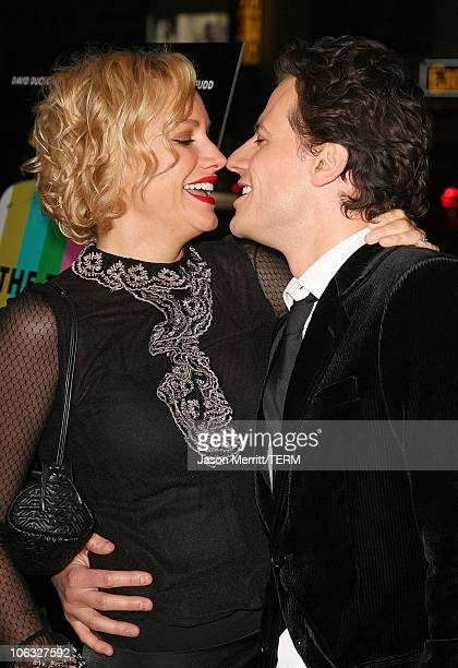 Alice Evans and Ioan Gruffudd during 'The TV Set' Los Angeles Premiere Arrivals at Crest Theater in Los Angeles California United States