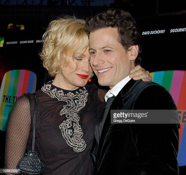 Alice Evans and Ioan Gruffudd during ThinkFilm Presents the Premiere of 'The TV Set' at Crest Theater in Los Angeles CA United States