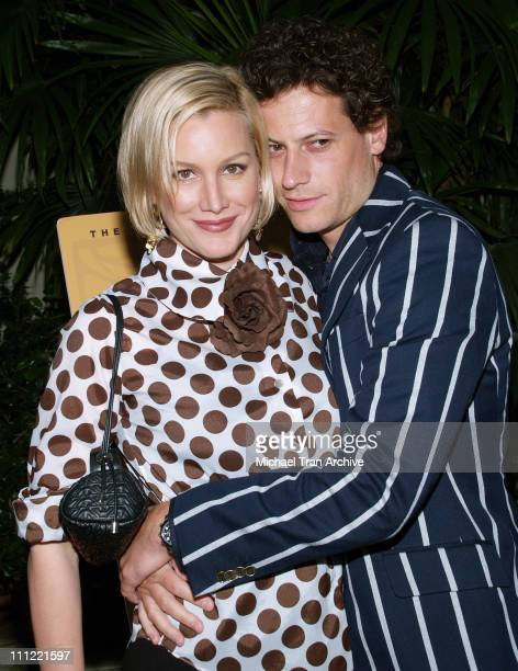 Alice Evans and Ioan Gruffudd during Vintage Hollywood 2006 Benefitting the Children's Circle at Private Residence in Brentwood California United...
