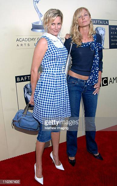 Alice Evans and Joely Richardson during 3rd Annual BAFTA Tea Party Honoring Emmy Nominees Arrivals at Park Hyatt in Century City California United...