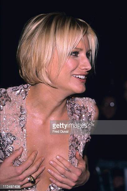 Alice Evans during '102 Dalmatians' Premiere at Odeon Cinema Leicester Square 6th December 2000 at Odeon Leicester Sqare in London United Kingdom