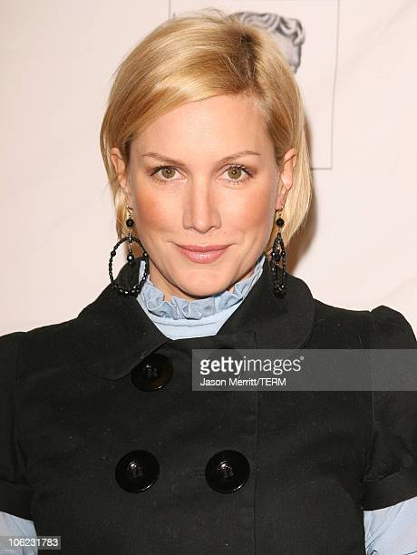Alice Evans during BAFTA/LA Awards Season Tea Party Arrivals at Four Seasons Hotel in Los Angeles CA United States