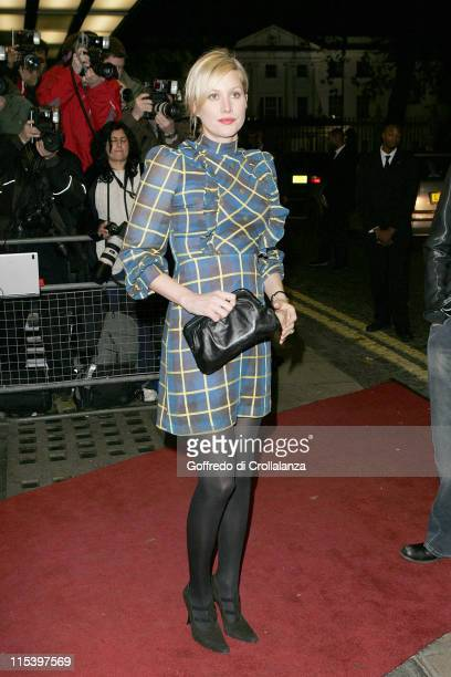 Alice Evans during George Michael's 'A Different Story' Gala London Screening at Curzon Mayfair in London Great Britain