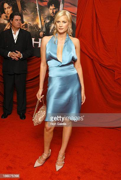 Alice Evans during 'King Arthur' New York Premiere Outside Arrivals at Ziegfeld Theatre in New York City New York United States
