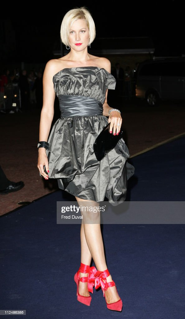 Alice Evans during London Fashion Week Spring/Summer 2007 - Emporio Armani 'One Night Only' - Arrivals at Earls Court in London, Great Britain.
