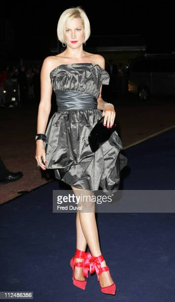 Alice Evans during London Fashion Week Spring/Summer 2007 Emporio Armani 'One Night Only' Arrivals at Earls Court in London Great Britain