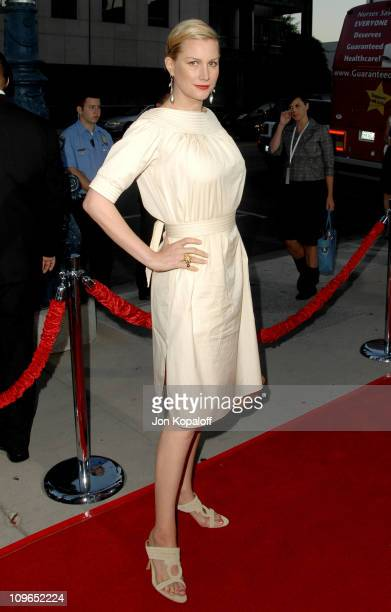 Alice Evans during 'Sicko' Los Angeles Premiere Arrivals at Academy Of Motion Picture Arts Sciences in Beverly Hills California United States