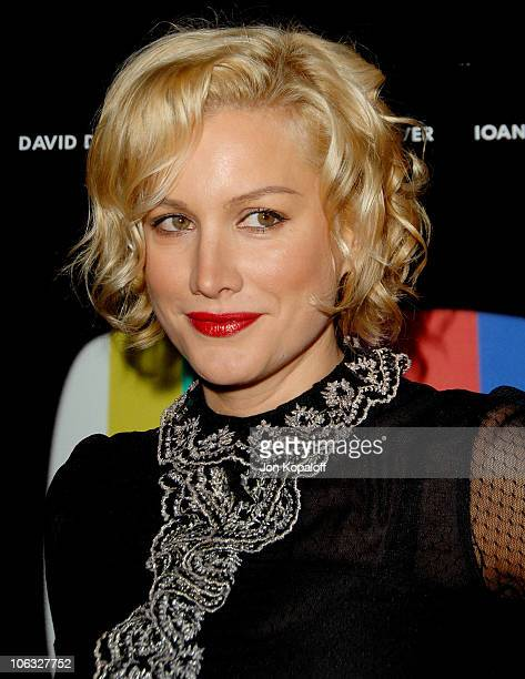 Alice Evans during 'The TV Set' Los Angeles Premiere Arrivals at Crest Theater in Los Angeles California United States